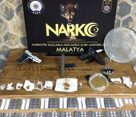 18 Ayda Uyuşturucudan 557 Tutuklama