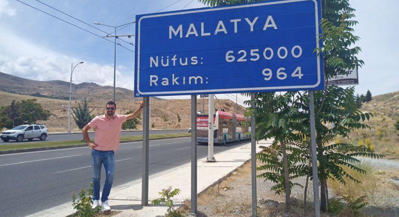 Anadolu Efes'li Simon Malatya'da