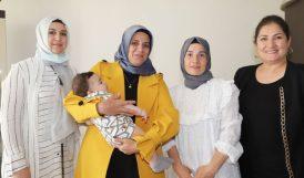 SMA'lı Eyüp Bebeğe Destek Ziyareti