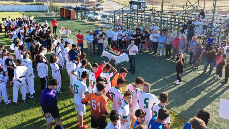 Yeşilyurt Spor Şenliği Ödül Töreni