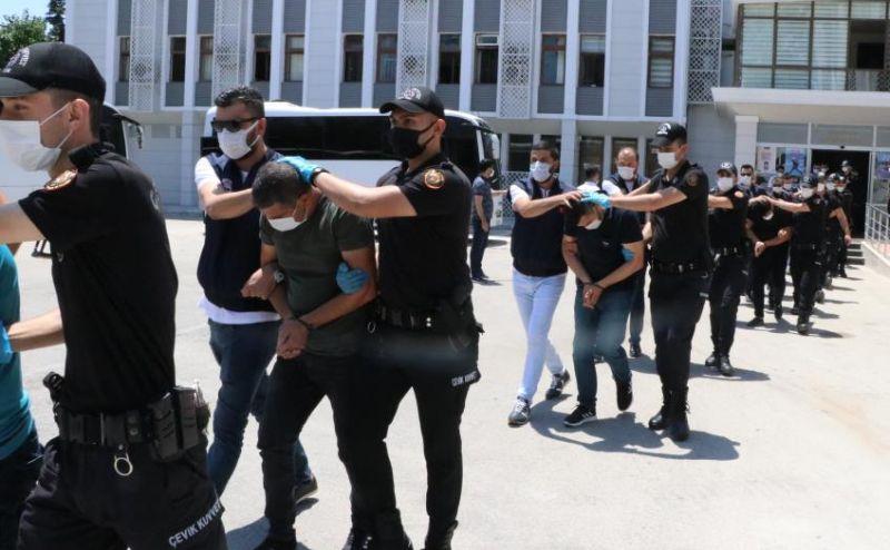 Suç Örgütü Operasyonunda 21 Tutuklama