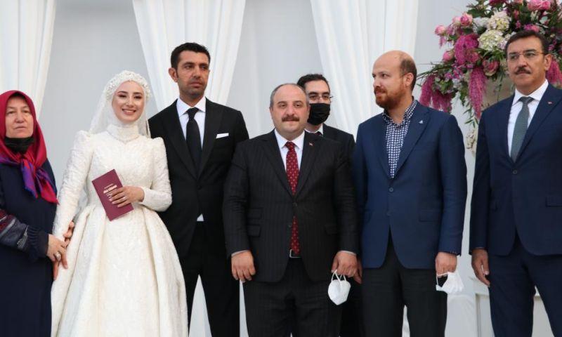 Tüfenkci Gaziantep'te Nikah Şahidi Oldu