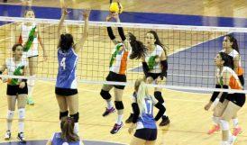 Voleybol Kadınlar Grubunda 2. Gün Maçları Oynandı