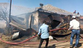 Evde Çıkan Yangında Bir Kişi Dumandan Etkilendi