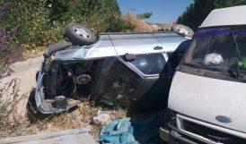Darende'de Kaza.. 12 Kişi Yaralandı