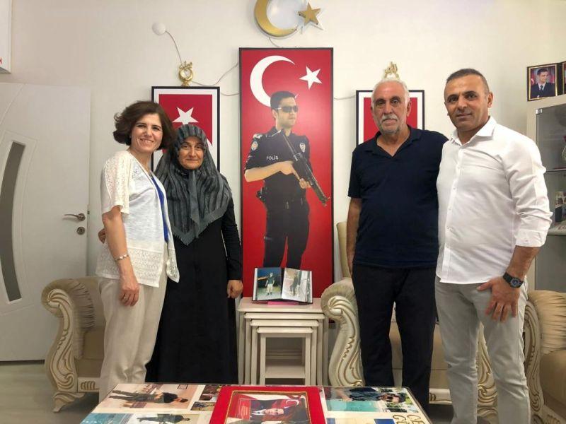 Şehit Aileleri ve Gazilerin Bayramını Kutladılar