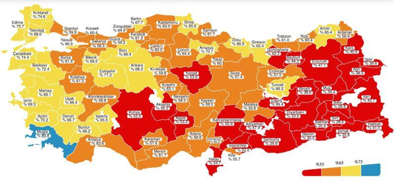 Malatya'da Aşı Olanların Oranı Yüzde 55,6