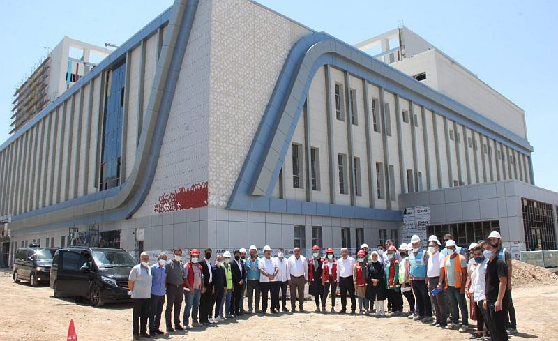 '300 Yataklı Hastane İnşaatı 2 Ay Sonra Bitiyor'