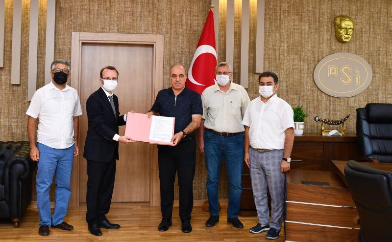 Ilıca Göleti Proje Yapım Sözleşmesi İmzalandı