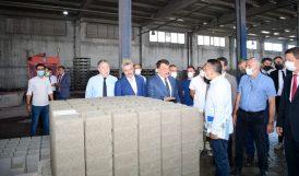 MESTON'da Üretimi Yapılan Ürünleri İnceledi