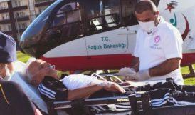 Hava Ambulansı İle Malatya'ya Sevk Edildi
