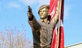 Tartışma Yaratan Heykeli Özel Kuvvetler Komutanlığı Yıktırmış