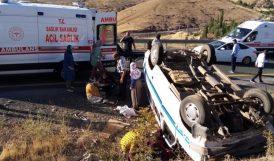Trafik Kazalarında 14 Kişi Yaralandı