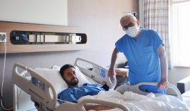 Hazırlık Maçında Sakatlanan Nuri Fatih Ameliyat Edildi