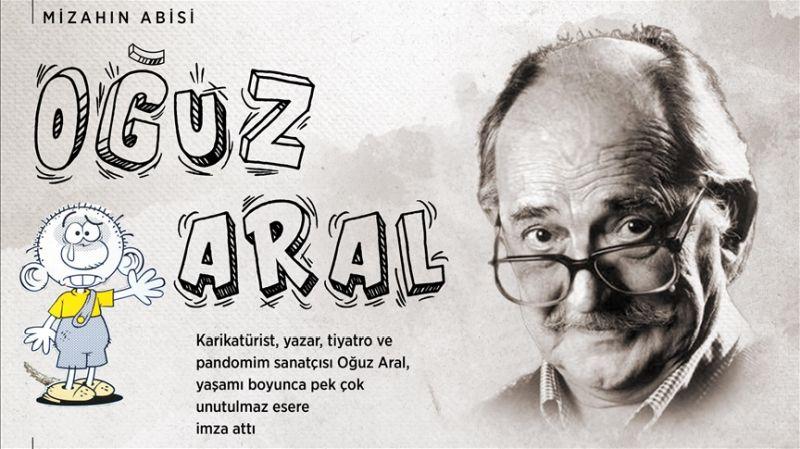 Türk Karikatürünün Ustalarından Oğuz Aral