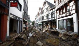 Almanya'da Selden Ölenlerin Sayısı 164'e Yükseldi
