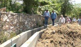 Pütürge'de Sulama Kanalları Yenileniyor