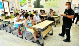 Çocuklara Deprem ve Yangın Eğitimi