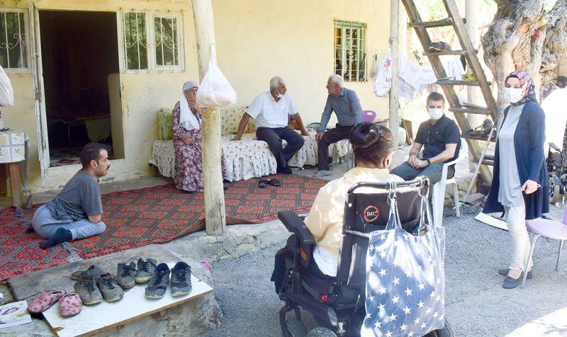 Engelli Gencin Ailesine Ev Yapımı İçin Destek