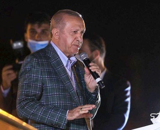 Erdoğan, Yangın Bölgesinde..