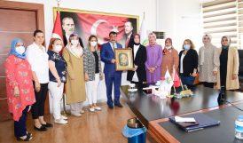 AKP'li Kadınlardan Gürkan'a Ziyaret ve Övgü
