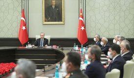 MGK, Erdoğan Başkanlığında Toplandı