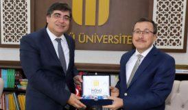 Öztatar'dan Rektör Kızılay'a Ziyaret