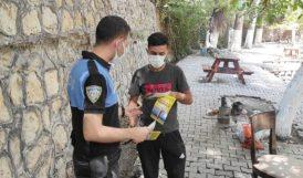 Polisten Piknikçilere Mangal Uyarısı
