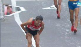 Salih'in Olimpiyat Şanssızlığı.. Yarışı Tamamlayamadı