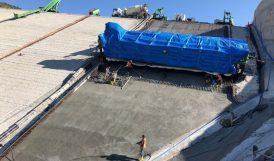 Yoncalı'da Ön Yüz Beton İşlemi Yapılıyor
