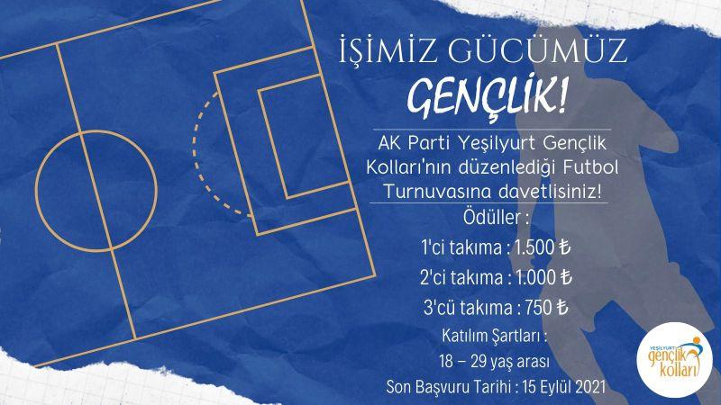 AKP Yeşilyurt'tan Futbol Turnuvası