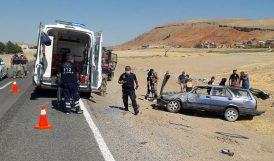 Arapgir'de Kaza.. 3 Kişi Yaralandı