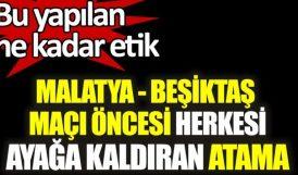 Beşiktaş- YMS Maçına Atanan Gözlemciye Tepki