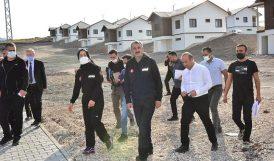 AFAD Başkanı Deprem Konutlarını İnceledi