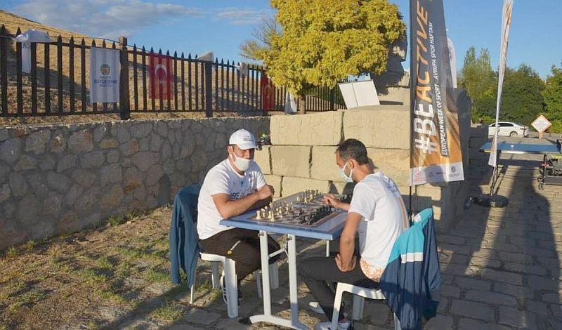 Arslantepe'de Spor Etkinliği