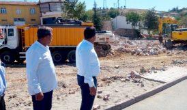 Pütürge'de Belediye Binası İnşaatına Start