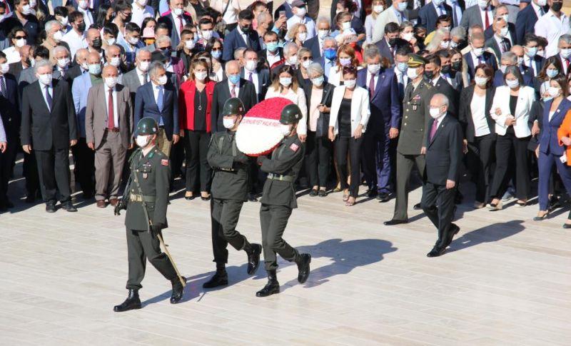 CHP, 98'inci Kuruluş Yıl Dönümünü Kutladı