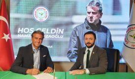 Hamza Hamzaoğlu, Rizespor Teknik Direktörü Oldu