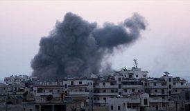 Rusya, İdlib'e Hava Saldırıları Düzenledi