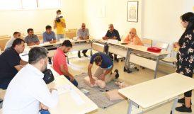 Personele 'İlk Yardımcı Eğitimi' Veriliyor