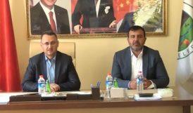 AKP'li Kaçar Pütürge Belediyesinde