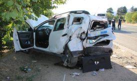Elazığ- Malatya Yolunda Kaza, 8 Yaralı