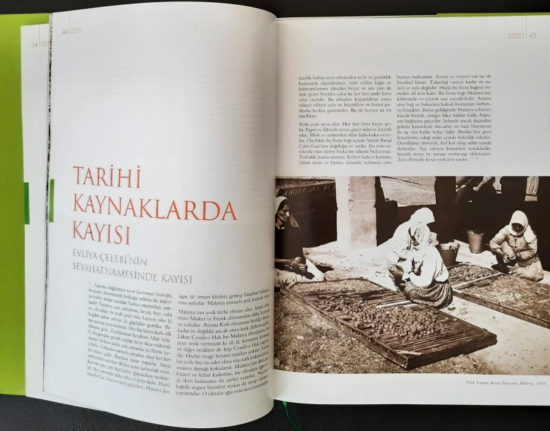 'Malatya Kayısısı' Kitabı Yayınlandı