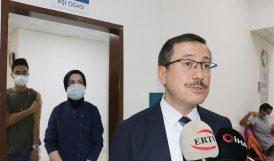 İnönü'de Öğrenci ve Personel İçin Aşı Merkezi