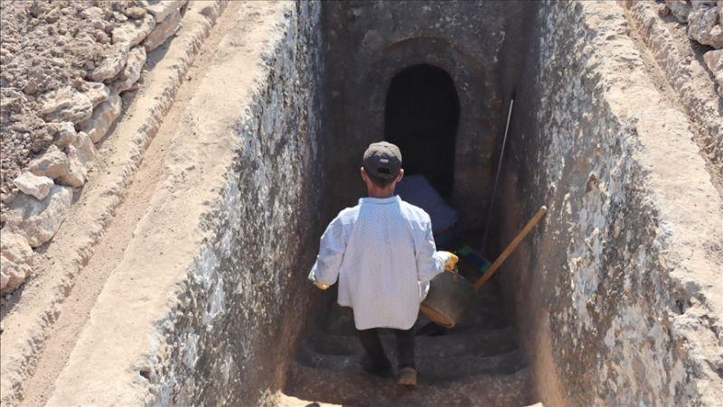 Adıyaman'daki Tharsa Antik Kenti Kazısı