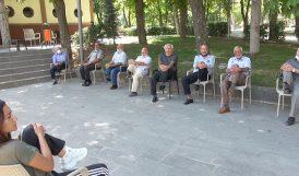 Vefa Konağı'nda Yaşlılara Egzersiz Etkinliği