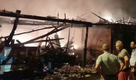 Doğanşehir'de Yangın Zarara Yolaçtı