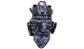 Polisi Balistik Zırh Koruyacak