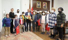 Öğrencilerden Başkan Güder'e Ziyaret