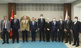 AKP Heyetinden İki Bakana Ziyaret